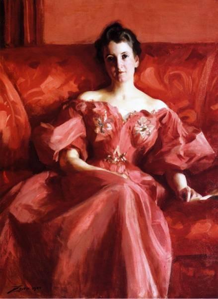 Portrait of Mrs Howe nee Deering